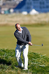 04-10-2012 SCO: Sir Steve Redgrave European Golf Tour, St Andrews<br /> Sir Steve Redgrave // during the European Golf Tour, Alfred Dunhill Links Championship at the Old Course, St. Andrews, Scotland<br /> <br /> *****NETHERLANDS ONLY*****