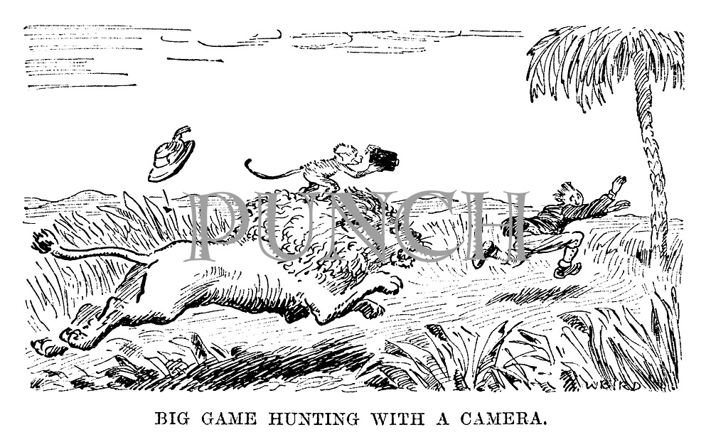 Big Game Hunting With a Camera.