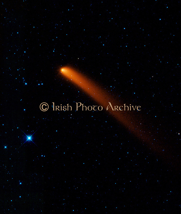 Infrared image of Comet Siding Spring (C/2007 Q3) discovered in 2007 by observers in Australia.   Credit NASA. Science Astronomy