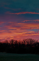 Colorful Clouds at Dawn. (1/4) Composite of eight images taken with a Leica SL2 camera and 50 mm f/1.4 lens (ISO 400, 50 mm, f/2.8, 1/80 sec). Raw images processed with Capture One Pro, and combined using AutoPano Giga Pro.