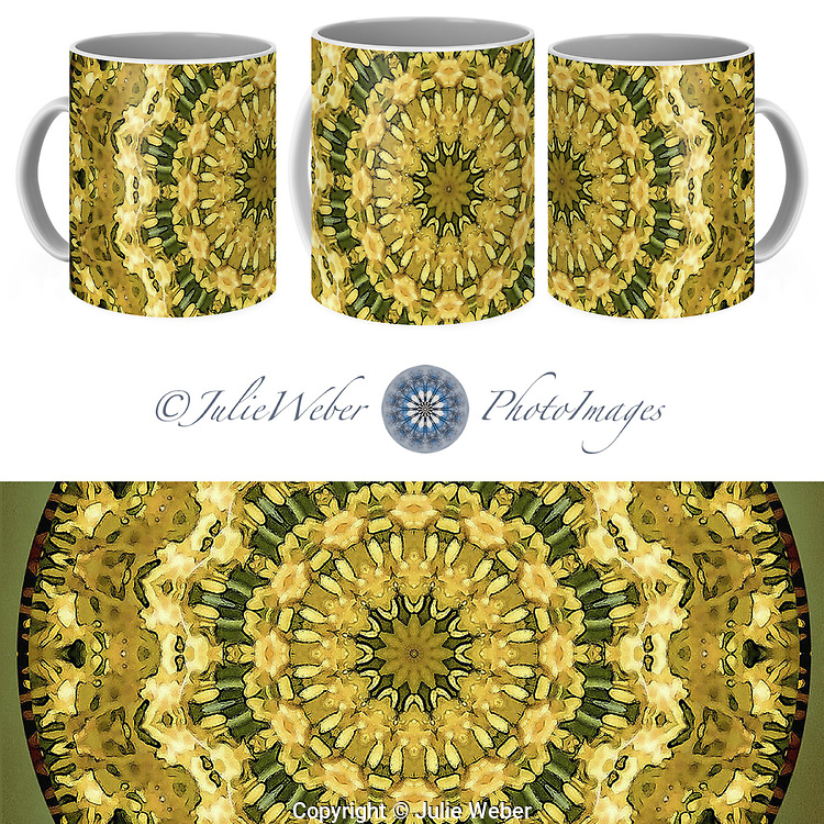 Coffee Mug Showcase   76 - Shop here: https://2-julie-weber.pixels.com/products/goldenrod-mandala-julie-weber-coffee-mug.html