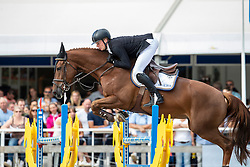 Van Den Brink Dennis, NED, I Am<br /> FEI WBFSH Jumping World Breeding Championship for young horses Zangersheide Lanaken 2019<br /> © Hippo Foto - Dirk Caremans