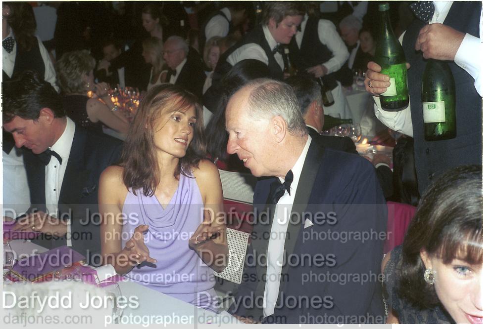 Lord Jacob Rothschild, 30th Aniversary Gala Dinner, Serpentine Gallery.20 June 2000<br />© Copyright Photograph by Dafydd Jones 66 Stockwell Park Rd. London SW9 0DA Tel 020 7733 0108 www.dafjones.com