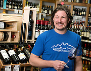 Joe Schindler and his wife Teresa own Liquor Down South, the best place south of town to get booze, crabs and local beef but you'll have to get gas elsewhere.