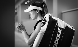 May 14, 2019 - Rome, ITALY - Alize Cornet of France on the way to the court for her first-round match at the 2019 Internazionali BNL d'Italia WTA Premier 5 tennis tournament (Credit Image: © AFP7 via ZUMA Wire)