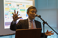 """Ecoisland's presentation to SMEs during the """"Business Support Days at the new Eco HUB."""