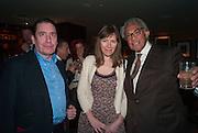 JOOLS HOLLAND; CHRISTABEL HOLLAND; SIR DAVID TANG, Chinese New Year dinner given by Sir David Tang. China Tang. Park Lane. London. 4 February 2013.