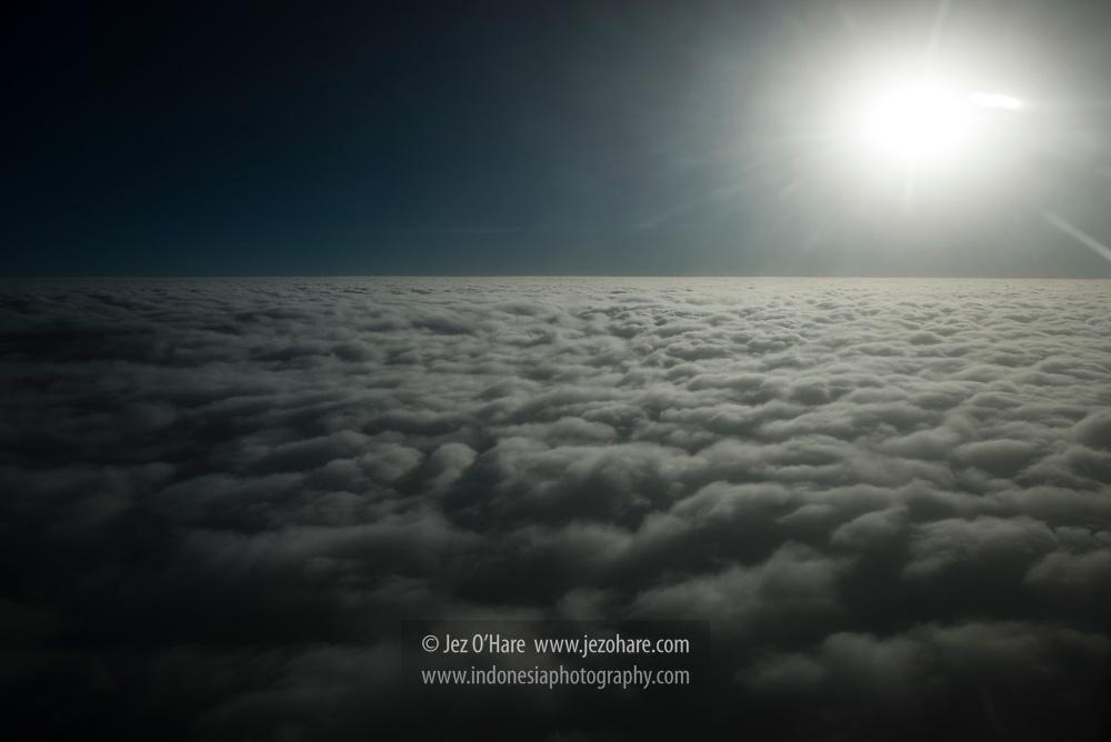Clouds over the sea near Kupang, Nusa Tenggara Timur, Indonesia