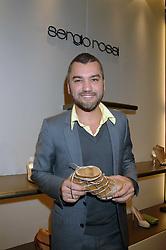 Designer EDMUNDO CASTILLO at a party at shoe store Sergio Rossi, 207 Sloane Street, London on 4th April 2007.<br /><br />NON EXCLUSIVE - WORLD RIGHTS