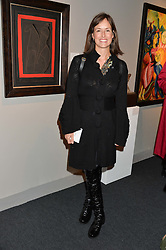 VISCOUNTESS GRIMSTON at the PAD London 10th Anniversary Collector's Preview, Berkeley Square, London on 3rd October 2016.