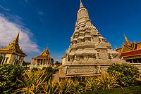 Silver Pagoda,Royal Palace, Phnom Penh, Cambodia.
