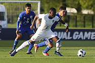 Paolo Gozzi Iweru of Italy (6) during the UEFA European Under 17 Championship 2018 match between Israel and Italy at St George's Park National Football Centre, Burton-Upon-Trent, United Kingdom on 10 May 2018. Picture by Mick Haynes.