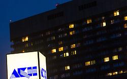 THEMENBILD - Allgemeines Krankenhaus Wien (AKH). Einer der reichsten Polen, der Unternehmer Jan Kulczyk ist in der Nacht auf Mittwoch im Alter von 65 Jahren in Wiener AKH an den Folgen einer Operation gestorben. Aufgenommen am 29.07.2015 in Wien, Österreich // General Hospital in Vienna.One of the richest Poles, the entrepreneur Jan Kulczyk has died at night on Wednesday at the age of 65 in Vienna's General Hospital as the result of an operation.  Austria on 2015/07/29. EXPA Pictures © 2015, PhotoCredit: EXPA/ Michael Gruber