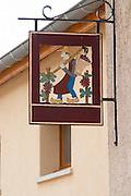 sign post clos st louis fixin cote de nuits burgundy france