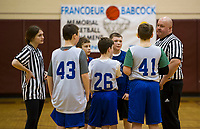 Francouer Babcock Memorial Basketball Tournament at Gilford Middle School.    ©2019 Karen Bobotas Photographer