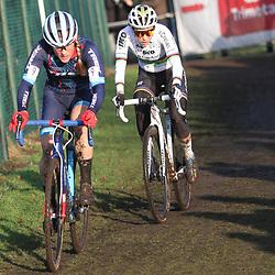 27-12-2019: Wielrennen: DVV veldrijden: Loenhout: Katie Compton: Sanne Cant