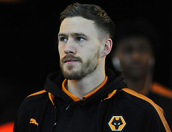 Barry Douglas of Wolverhampton Wanderers arrives at the Liberty Stadium - Mandatory by-line: Nizaam Jones/JMP- 17/01/2018 - FOOTBALL - Liberty Stadium- Swansea, Wales - Swansea City v Wolverhampton Wanderers - Emirates FA Cup third round proper