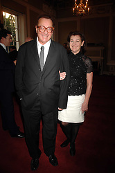LORD & LADY SAATCHI at a party to celebrate the publication of Sandra Howard's book 'Ursula's Stor' held at The British Academy, 10 Carlton House Terace, London on 4th September 2007.<br /><br />NON EXCLUSIVE - WORLD RIGHTS