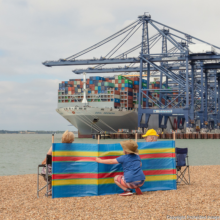 Package Holiday II, Port of Felistowe, Suffolk, 2020