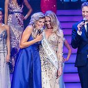 NLD/Hilversum/20160926 - Finale Miss Nederland 2016, Kim Kotter, Jessie Jazz Vuijk, Victor Brand