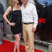 NLD/Almere/20140609 - Premiere Stuk de film, Cas Jansen en partner Annelieke Bouwers