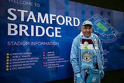 Manchester City fan stand arrives at Stamford Bridge - Mandatory byline: Jason Brown/JMP - 16/04/2016 - FOOTBALL - London, Stamford Bridge - Chelsea v Manchester City - Barclays Premier League