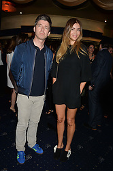 NOEL GALLAGHER and SARA MACDONALD at The Hoping Foundation's 'Starry Starry Night' Benefit Evening For Palestinian Refugee Children held at The Cafe de Paris, Coventry Street, London on 19th June 2014.