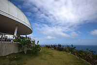 Triad is a cafe on the hill overlooking Larena Town and the islands of Cebu and Negros.  The dome architecture was selected for its unique ability to deflect strong winds which occur on the hilltop.