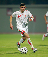 Adel Chedli Tunesien<br /> Africa Cup 2006 Tunesien - Zambia<br /> Tunisia <br /> Norway only