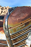 Rusty Plymouth Grill