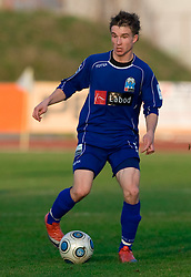 Jure Matjasic of Drava at 18th Round of PrvaLiga football match between NK Olimpija and NK Labod Drava, on November 21, 2009, in ZAK, Ljubljana, Slovenia. Olimpija defeated Drava 3:0. (Photo by Vid Ponikvar / Sportida)