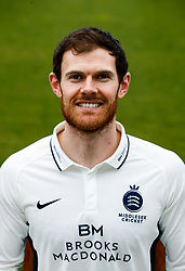 Middlesex's James Harris  during the media day at Lord's Cricket Ground, London. PRESS ASSOCIATION Photo. Picture date: Wednesday April 11, 2018. See PA story CRICKET Middlesex. Photo credit should read: John Walton/PA Wire. RESTRICTIONS: Editorial use only. No commercial use without prior written consent of the ECB. Still image use only. No moving images to emulate broadcast. No removing or obscuring of sponsor logos.