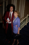 Brian May and  Anita Dobson. 50th Ivor Novello Awards, Grosvenor House. London. 26 may 2005. ONE TIME USE ONLY - DO NOT ARCHIVE  © Copyright Photograph by Dafydd Jones 66 Stockwell Park Rd. London SW9 0DA Tel 020 7733 0108 www.dafjones.com