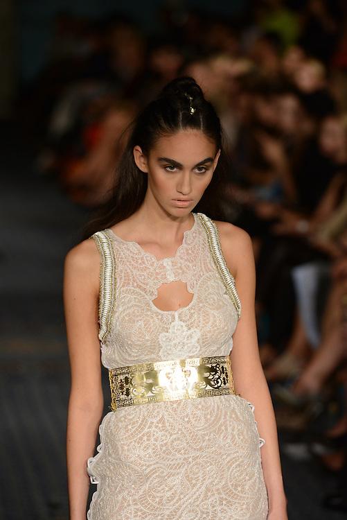 Kristian Aadnevik fashion show during London Fashion Week SS 2015. 14/09/2014 London, UK. credit: Anne-Marie Michel