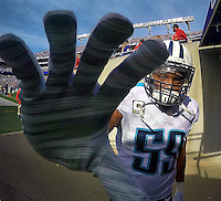 Tennessee Titans vs. Baltimore Ravens onNov. 9, 2014 in Baltimore, Maryland. Photos by Donn Jones.