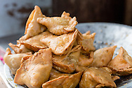 Samosas, Vegetarian Street Food in India