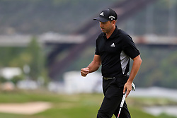 March 29, 2019 - Austin, Texas, United States - Sergio Garcia reacts after putting the 14th green during the third round of the 2019 WGC-Dell Technologies Match Play at Austin Country Club. (Credit Image: © Debby Wong/ZUMA Wire)