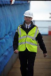 HMS Queen Elizabeth, Rosyth,24-5-2016        <br /> <br /> Cpt Kid, <br /> <br /> (c) David Wardle   Edinburgh Elite media