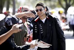 March 16, 2019 - Melbourne, Australia - Motorsports: FIA Formula One World Championship 2019, Grand Prix of Australia, ..Esteban Ocon (FRA, Mercedes AMG Petronas Motorsport) (Credit Image: © Hoch Zwei via ZUMA Wire)