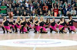 Dragon Ladies  during basketball match between KK Union Olimpija (SLO) and Panathinaikos (GRE) in Group D of Turkish Airlines Euroleague, on November 4, 2010 in Arena Stozice, Ljubljana, Slovenia. Union Olimpija defeated Panathinaikos 85-84. (Photo By Vid Ponikvar / Sportida.com)