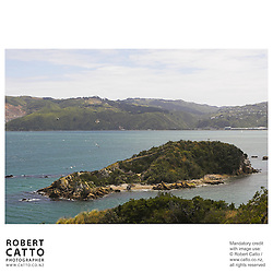 Mokopuna Island at Somes Island, Wellington, New Zealand.<br />
