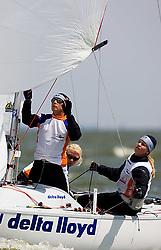 08_01023 © Sander van der Borch. Medemblik - The Netherlands,  May 21th 2008 . First day of the Delta Lloyd Regatta 2008.