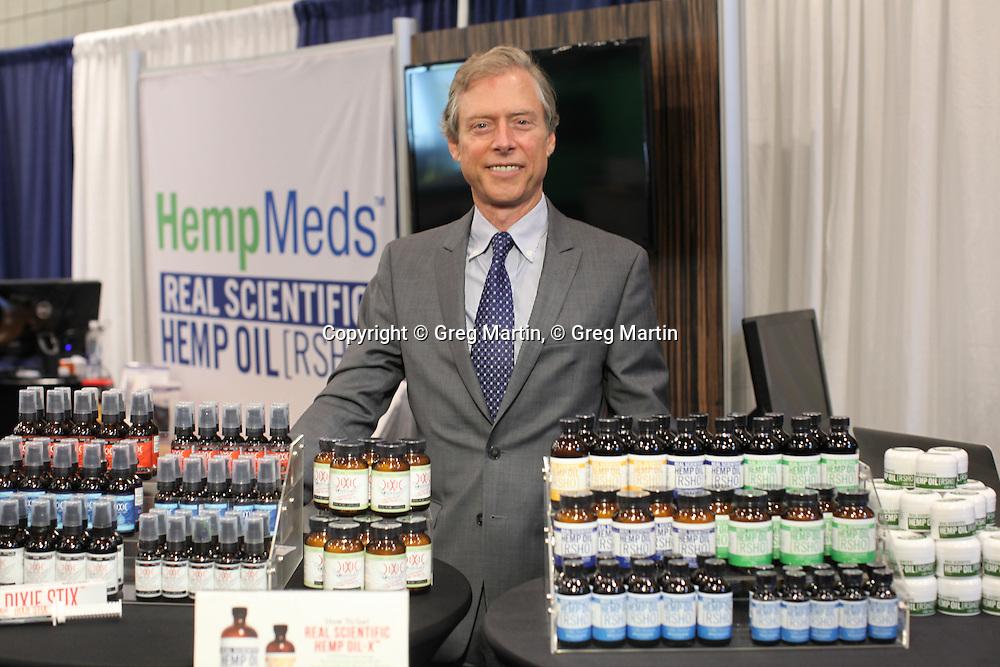 Stuart Titus from Medical Marijuana, Inc.<br /> CWCBExpo NYC