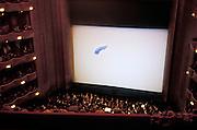 interior of opera house The Metropolitan Opera in New York City