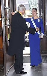 April 25, 2017 - Stockholm, Sweden - Crown princess Victoria..Attendance at the Royal Patriotic Society's annual event, Riddarhuset, Stockholm, 2017-04-25..(c) Karin Törnblom / IBL....Närvaro vid Kungliga Patriotiska Sällskapets Ã¥rshögtid, Riddarhuset, 2017-04-25 (Credit Image: © Karin TöRnblom/IBL via ZUMA Press)