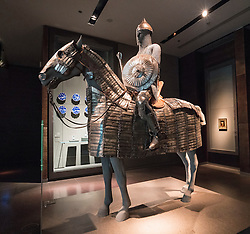 Armour for Horse and Rider from Turkey on display at Museum of Islamic Art in Doha Qatar