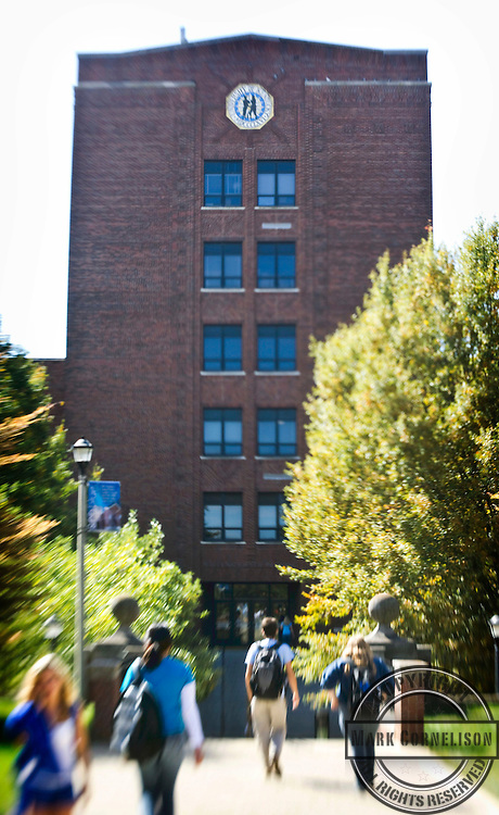 The Funkhouser building on the UK campus  in Lexington, KY on Tuesday October 4, 2011 .  Photo by Mark Cornelison..