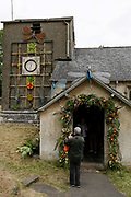 St Anthonys Church Flower Festival on the 14th June 2019 in Cartmell Fell in the United Kingdom. St Anthonys Church is an Anglican parish church, in the village of Cartmel Fell, in Cumbria, England. The church is recorded in the National Heritage List for England as a designated Grade I listed building.