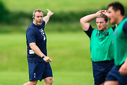 Mark Irish looks on during week 1 of Bristol Bears pre-season training ahead of the 19/20 Gallagher Premiership season - Rogan/JMP - 03/07/2019 - RUGBY UNION - Clifton Rugby Club - Bristol, England.
