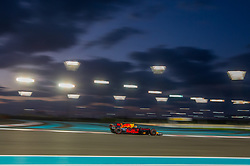 November 26, 2017 - Abu Dhabi, United Arab Emirates - Max Verstappen of Netherland and Red Bull Racing Team driver goes during the race at Formula One Etihad Airways Abu Dhabi Grand Prix on Nov 26, 2017 in Yas Marina Circuit, Abu Dhabi, UAE. (Credit Image: © Robert Szaniszlo/NurPhoto via ZUMA Press)